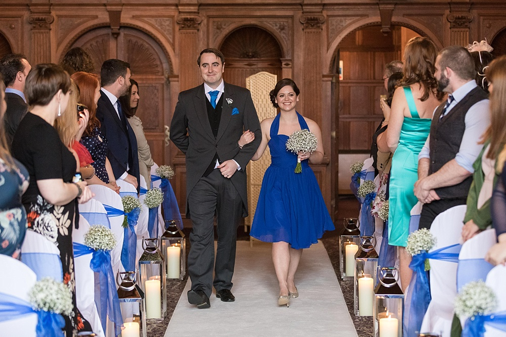 rhinefield house wedding by Martin Bell Photography - award winning wedding photographer