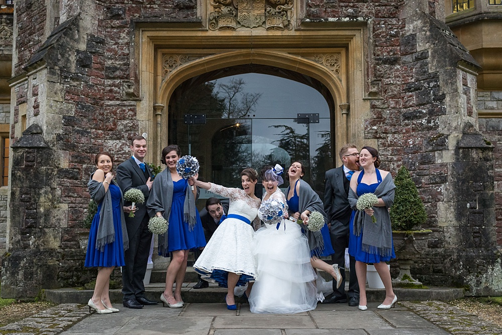 same sex rhinefield house wedding by Martin Bell Photography - award winning wedding photographer