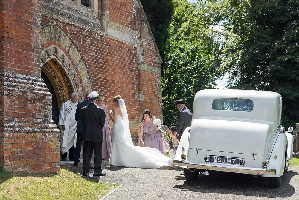 Rhinefield House wedding photographer - award winning photographs by Martin Bell Photography - St Michaels and All Saint church Lyndhurst