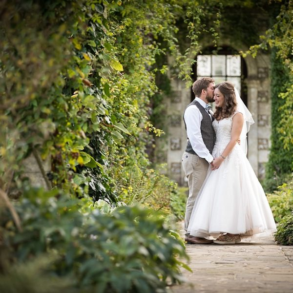 West Dean wedding photography ~ Katy & Jak