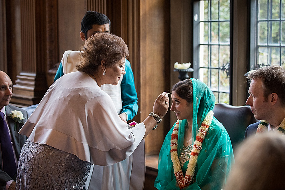 Indian wedding at Rhinefield House by Martin Bell Photography