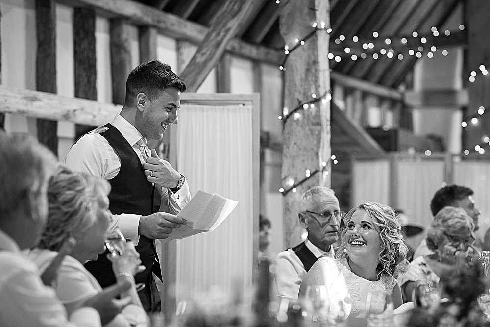 Clock Barn Wedding Photography | A summer wedding at Clock Barn | Martin Bell Photography