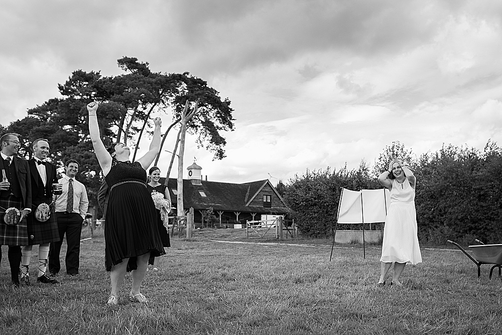 Wick Hill Farm wedding by Hampshire wedding photographer Martin Bell Photography