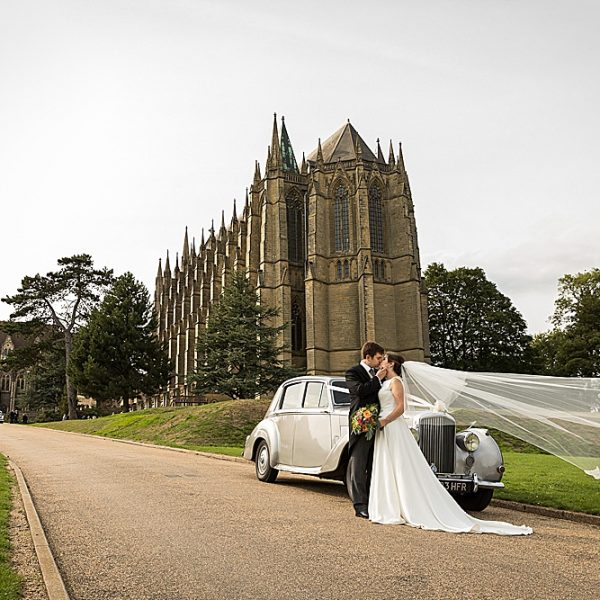 Lancing College Chapel wedding photography ~ Rachael & Philip