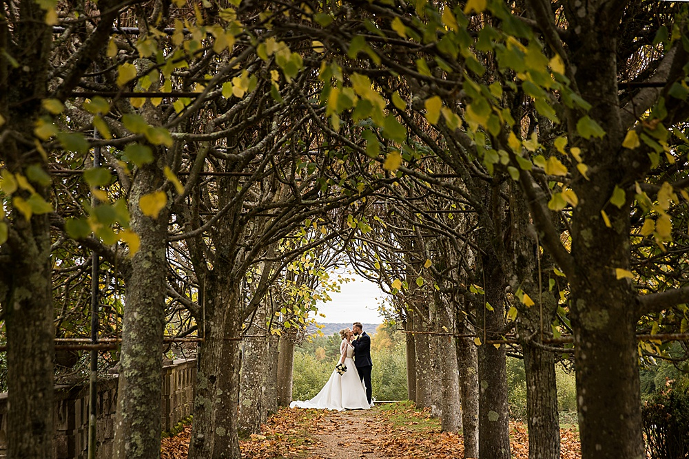 Rhinefield House autumn wedding by award winning Hampshire wedding photographer - Martin Bell Photography