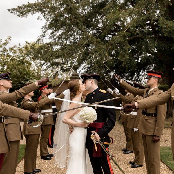 Elvetham military wedding ~ Zoe & Hadley