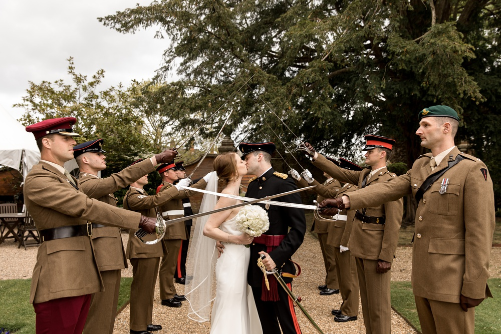Elvetham military wedding ~ Zoe & Hadley