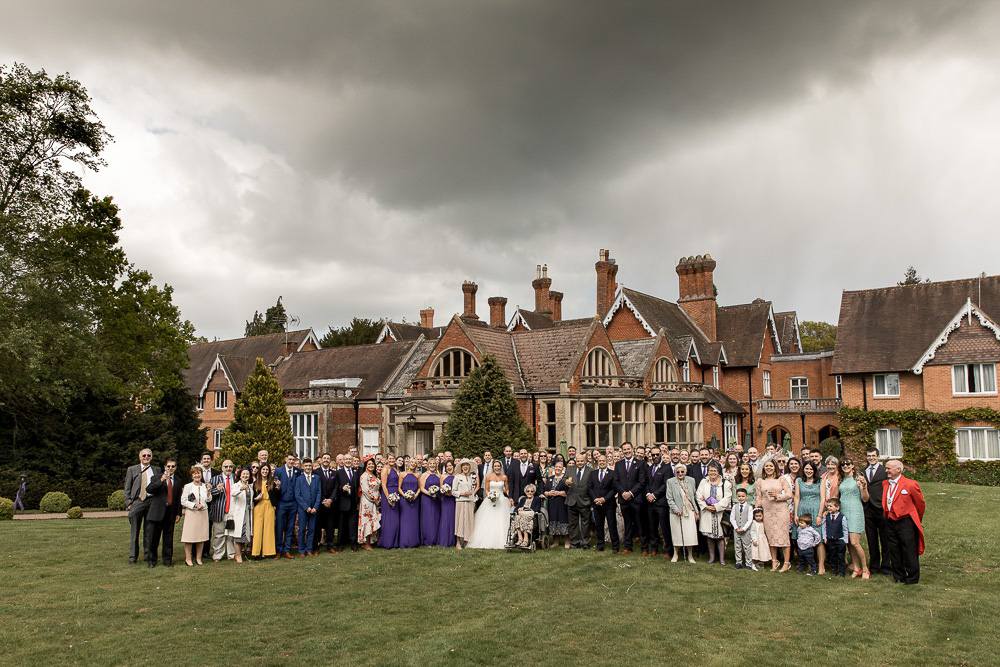 Audleys Wood wedding photography by award winning Hampshire wedding photographer Martin Bell.