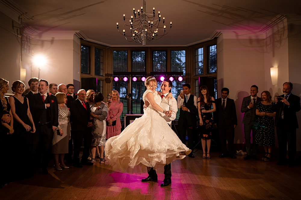 Coombe Lodge at Blagdon wedding photography ~ Emily & James