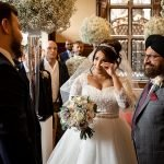 An Autumn wedding at The Elvetham by multi award winning wedding photographer Martin Bell.