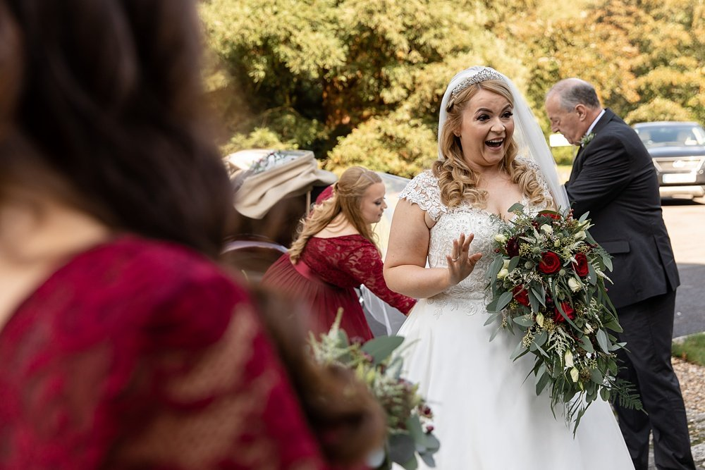 New Forest Autumn wedding photography by award winning Hampshire wedding photographer Martin Bell