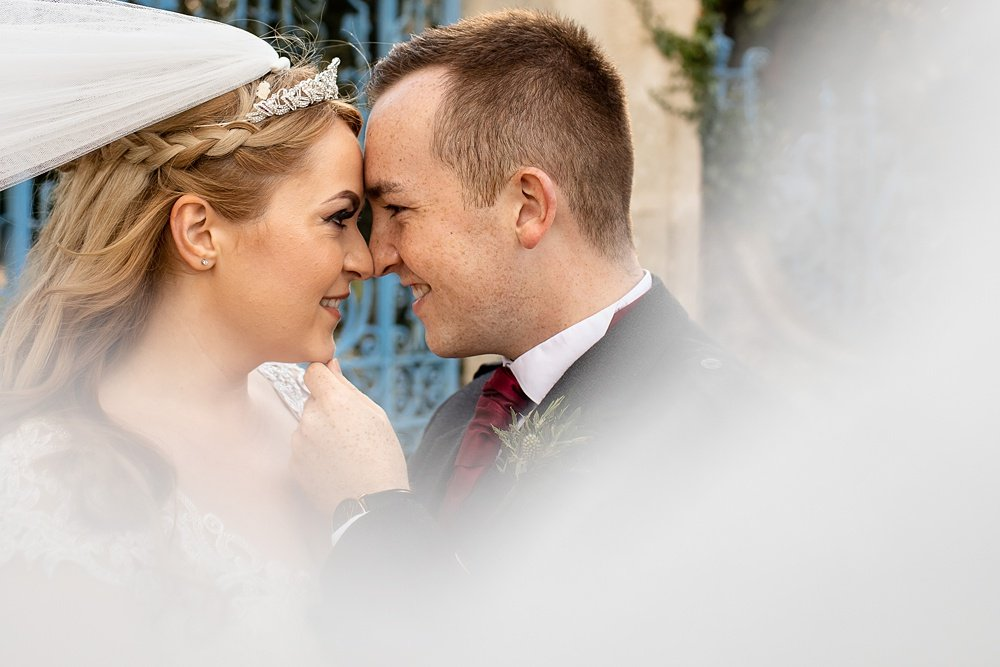 New Forest Autumn wedding photography by award winning Hampshire wedding photographer Martin Bell