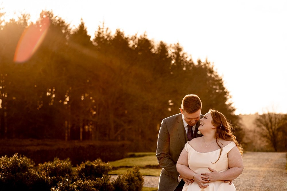 New Forest Winter Wedding Photography ~ Anna & Callum