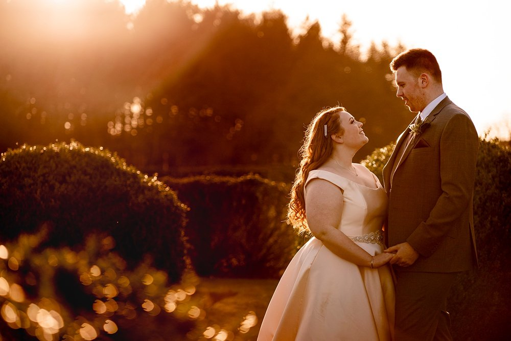 New Forest winter wedding photography by award winning Hampshire wedding photographer Martin Bell