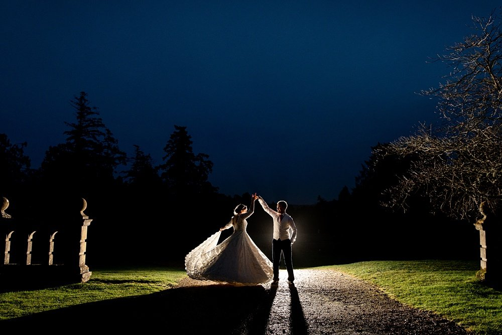 Rhinefield House Christmas wedding ~ Emily & Charlie