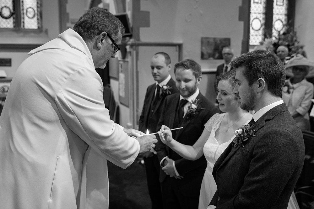 A beautiful Barford Park Barn autumn wedding by award winning hampshire wedding photographer Martin Bell
