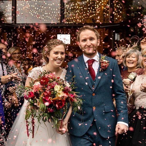 Barford Park Barn Autumn wedding - Abi & Tom