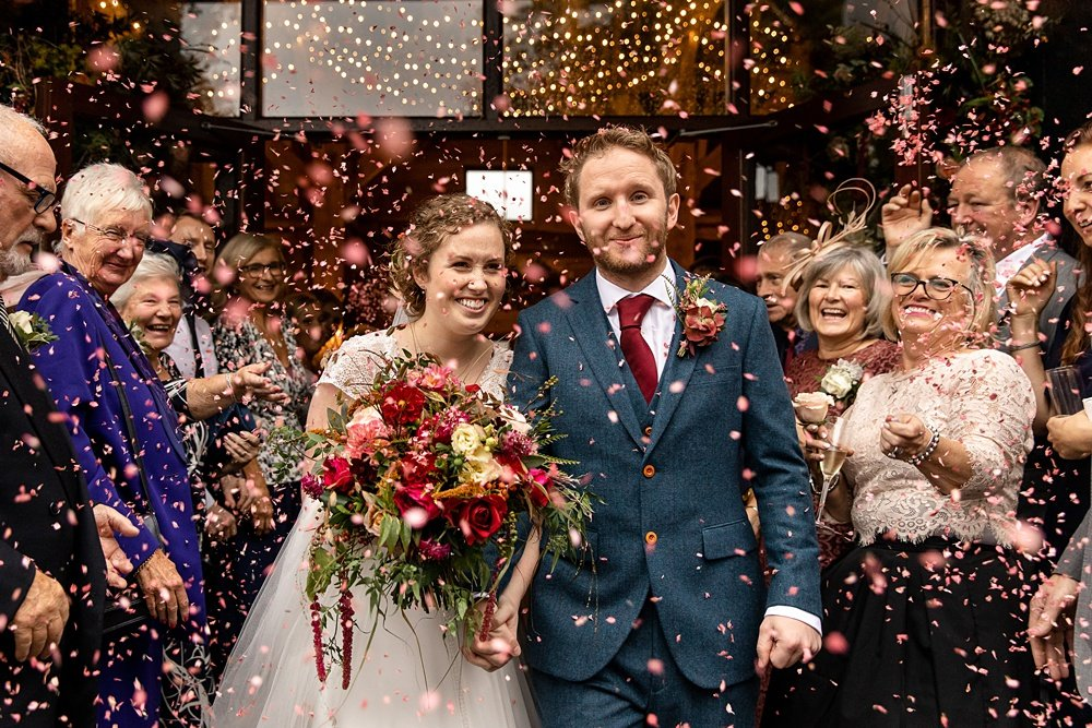 Barford Park Barn Autumn wedding - Abi & Tom