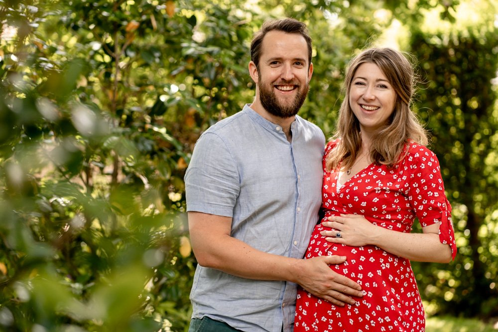 A bump photoshoot in Hampshire by Martin Bell Photography