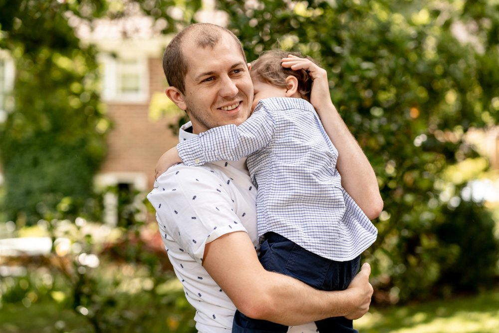An Outdoor family photoshoot in Hampshire by Martin Bell Photography
