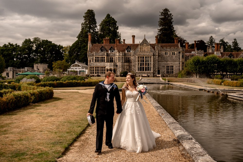 Southampton wedding photographer producing photographs at Rhinefield House for Annie and Gregory's wedding day